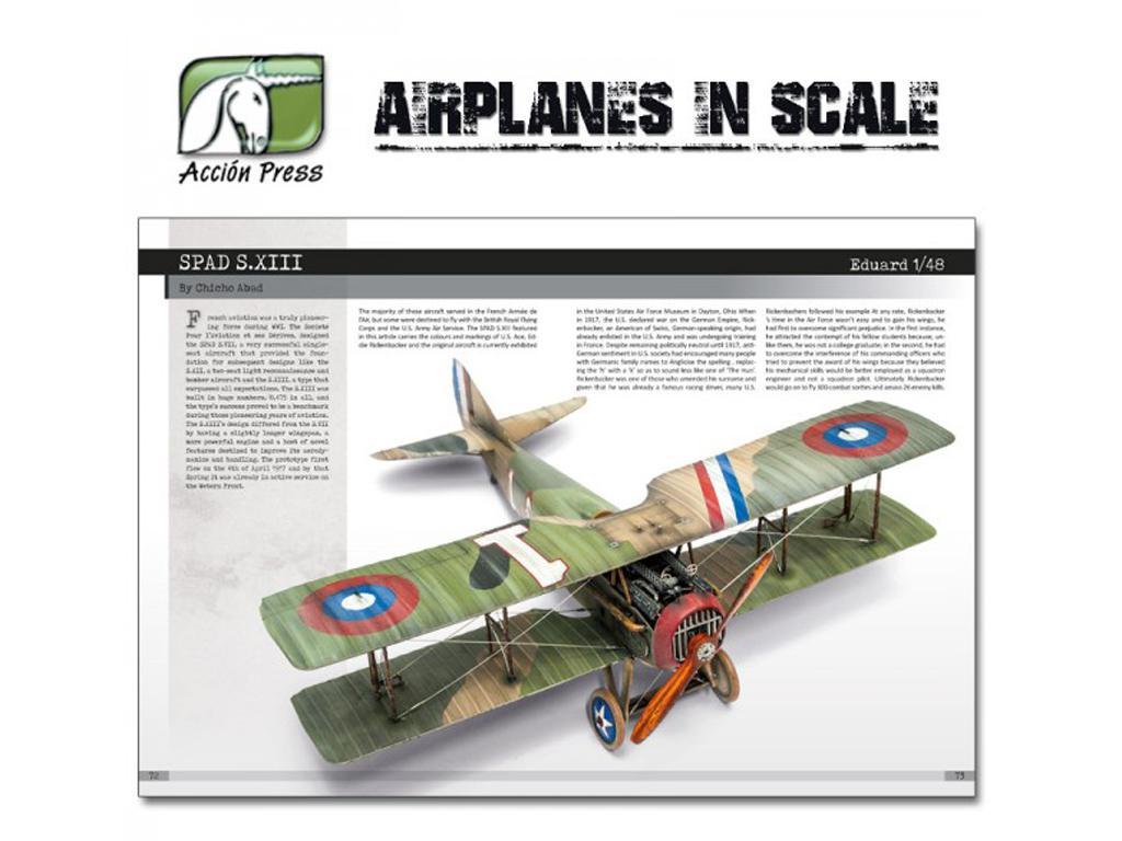 Airplanes in Scale - First World War  (Vista 2)