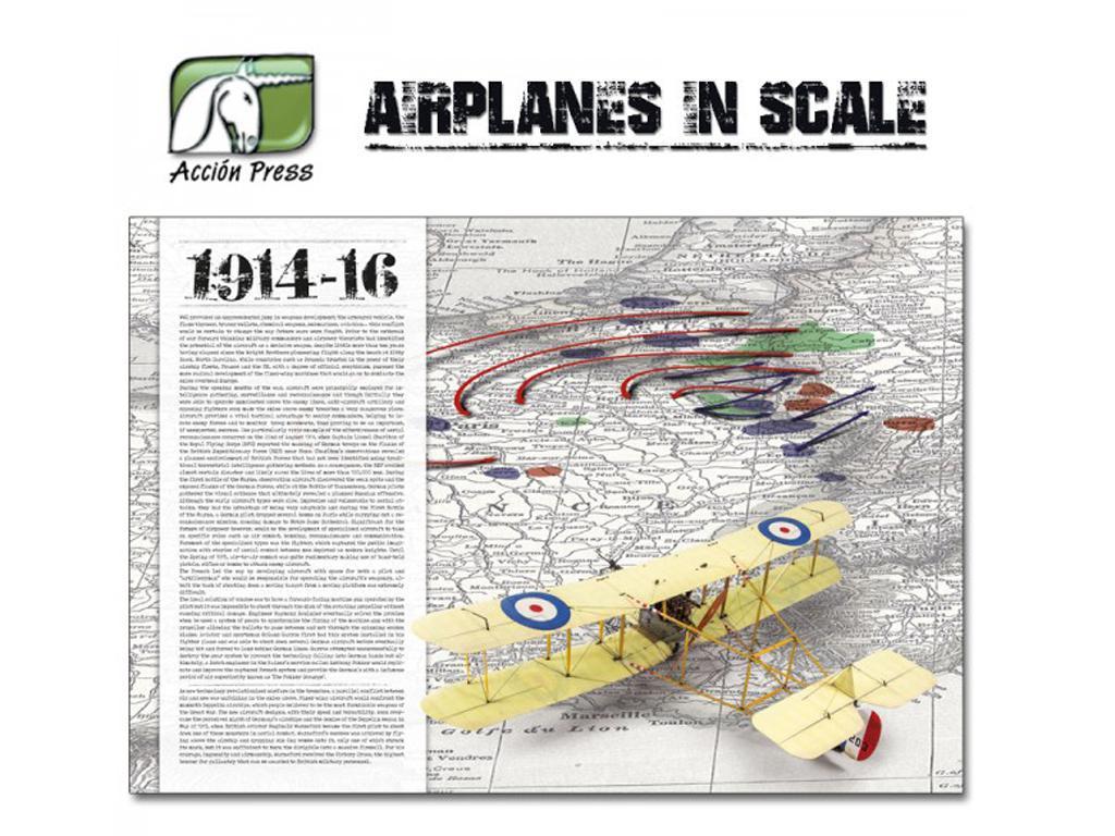 Airplanes in Scale - First World War  (Vista 3)
