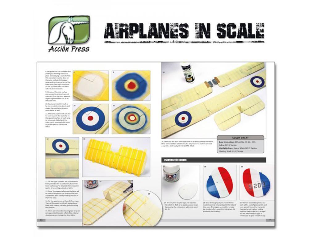 Airplanes in Scale - First World War  (Vista 4)