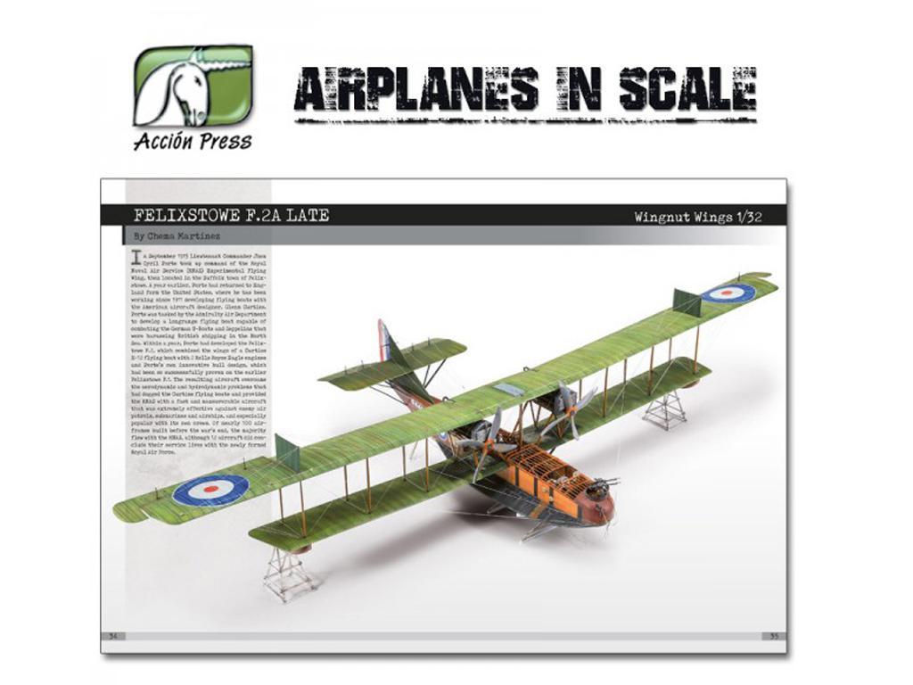 Airplanes in Scale - First World War  (Vista 6)