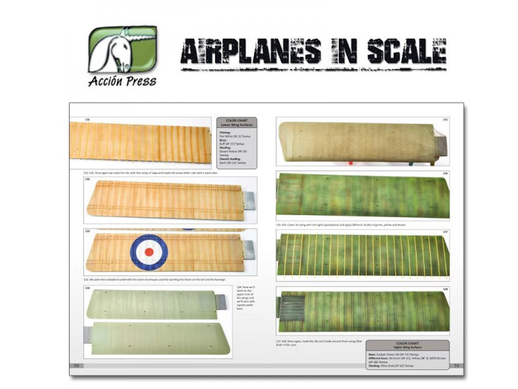 Airplanes in Scale - First World War  (Vista 9)