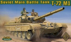 Soviet Main Battle Tank T-72 M1  (Vista 1)