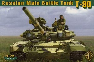 T-90 Russian Main Battle Tank  (Vista 1)