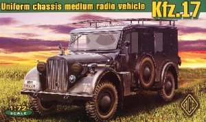 Kfz.17 - uniform chassis medium radio