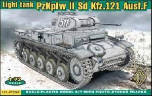 German Panzer II Ausf.F Sdkfz.121   (Vista 1)