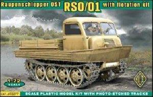 German Raupenschlepper OST RSO   (Vista 1)
