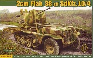 2cm Flak 38 sfl SdKfz.10/4  (Vista 1)