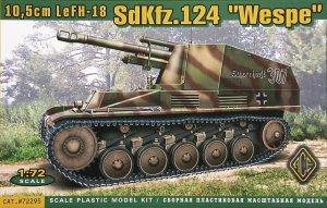 10,5cm LeFH-18 Sd.Kfz. 124 Wespe  (Vista 1)
