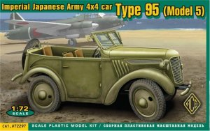 Imperial Japanese Army 4x4 car Type 95