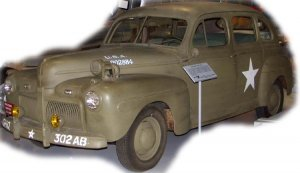 US Army Staff Car model 1942  (Vista 2)