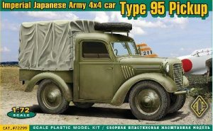 Imperial Japanese Army Type 95 pickup