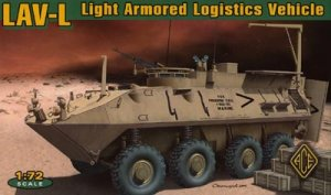 LAV-L (logistics vehicle w/rubber tyres)