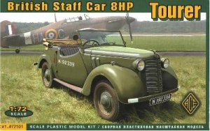 British Staff Car Tourer 8HP