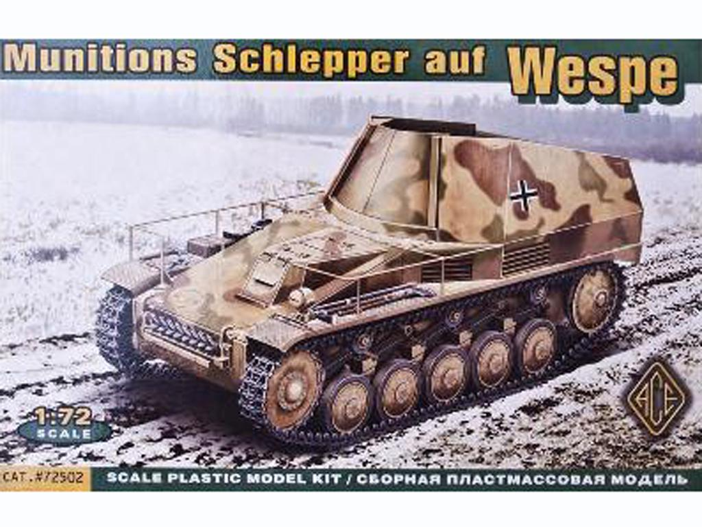 Munitions Schlepper auf Wespe  (Vista 1)