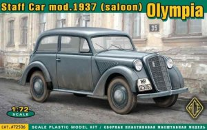 Olympia (saloon) staff car, model 1937  (Vista 1)