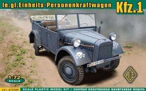 Kfz.1 le.gl.Einheits-Personenkraftwagen  (Vista 1)