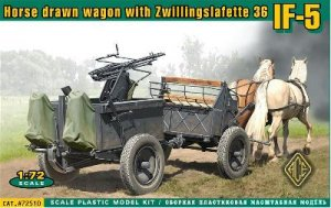 If. 5 horse drawn wagon (Type 36) with Z  (Vista 1)