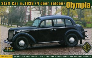 Staff Car m.1938 (4 door saloon) Olympia  (Vista 1)