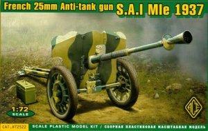 S.A.I Mle 1937 French 25mm anti-tank gun  (Vista 1)