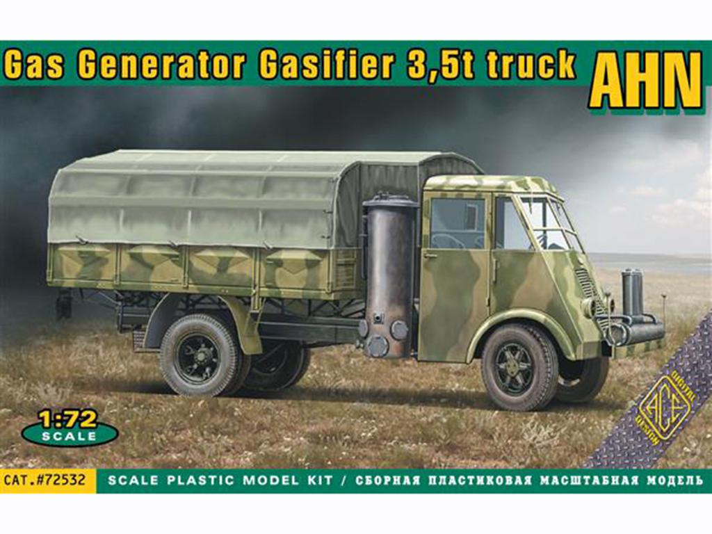 French 3,5t truck AHN with Gas generator