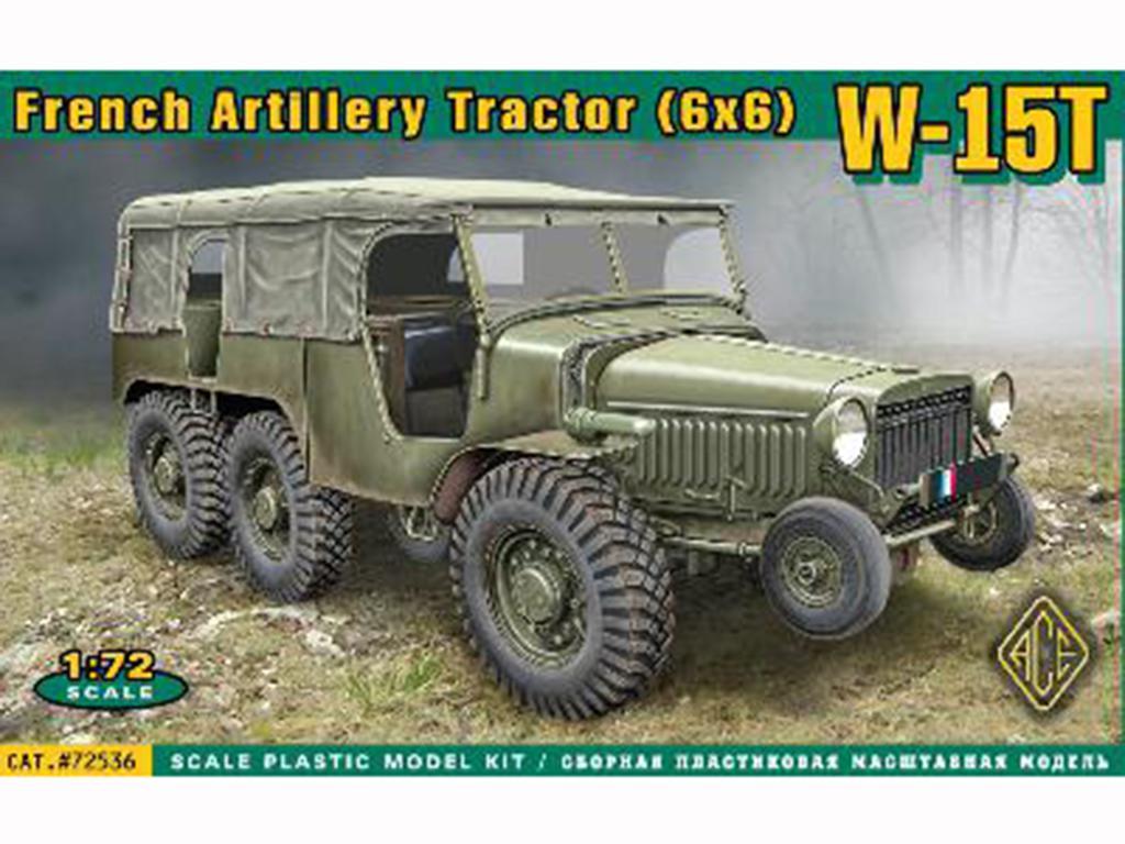 French WW2 Artillery tractor (6x6) W15T  (Vista 1)