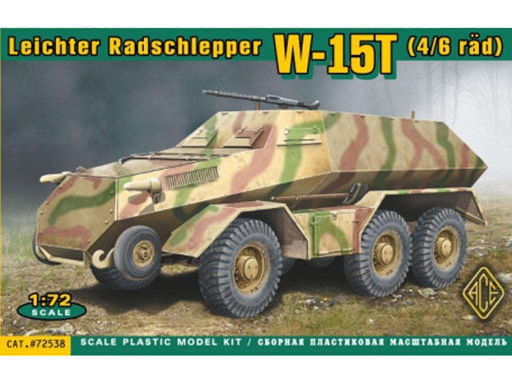 Leichter Radschlepper Laffly W15T  (Vista 1)