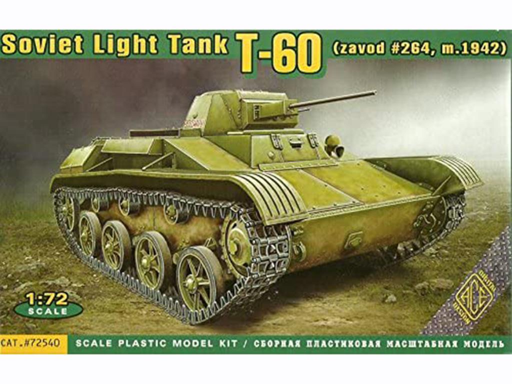 Soviet Light Tank T-60  (Vista 1)