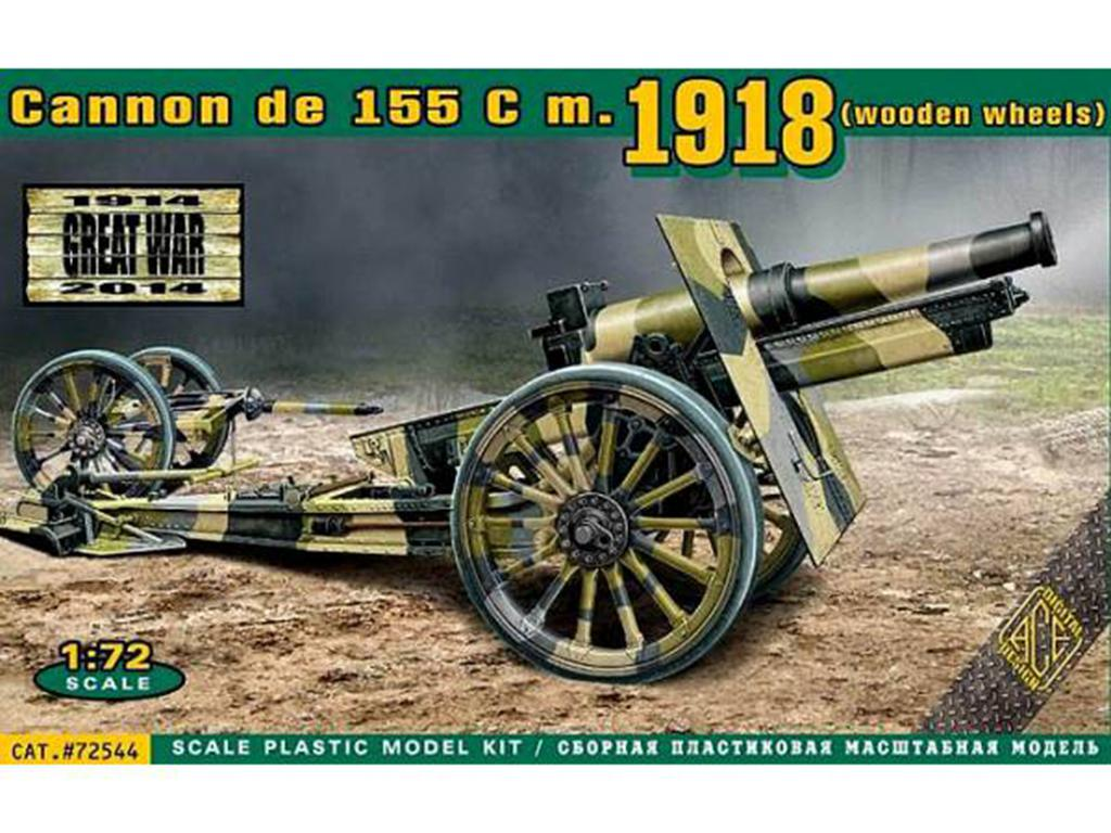 US 155mm Howitzer Model of 1918