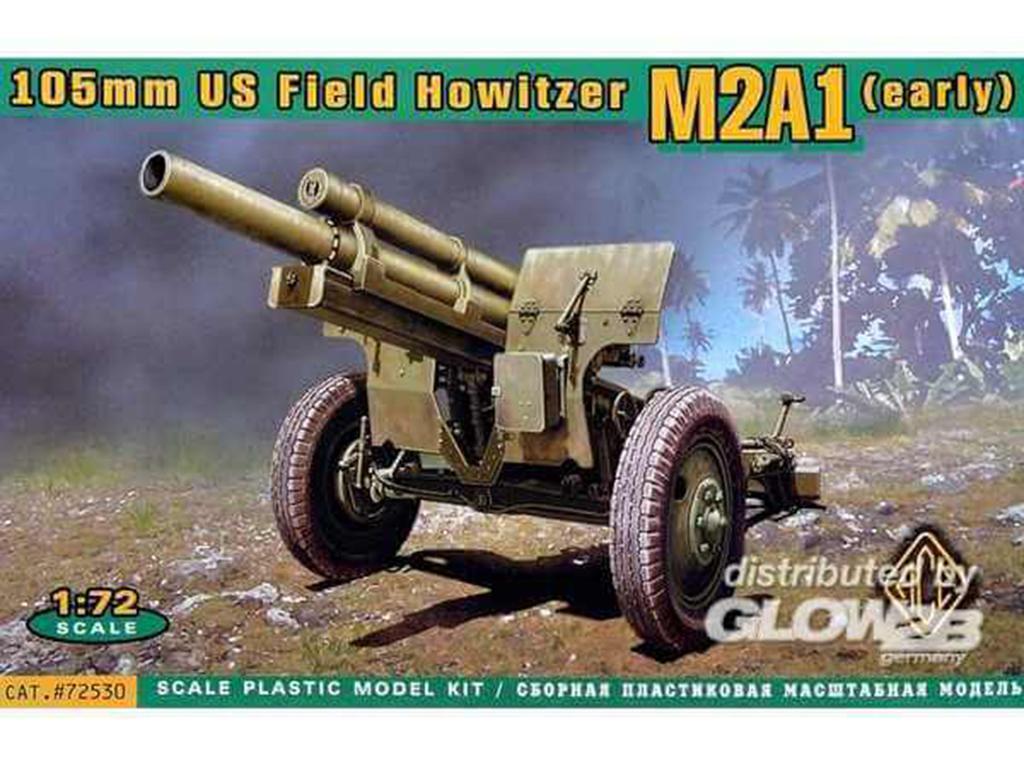 Howitzer 105 mm M2A1 (Vista 1)