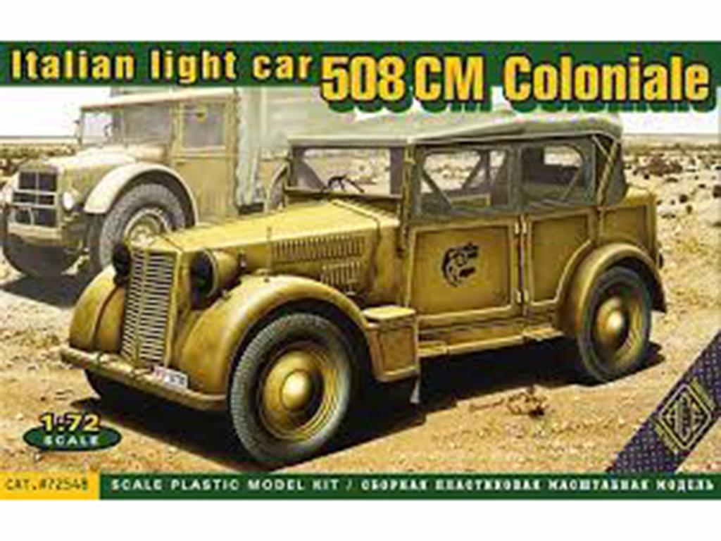 Italian light car 508 CM Coloniale (Vista 1)