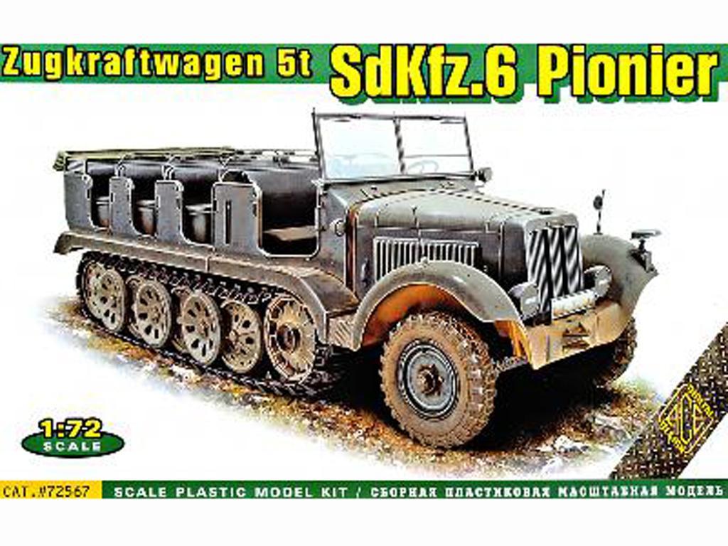 SdKfz.6 Zugkraftwagen 5t Pionier (Vista 1)