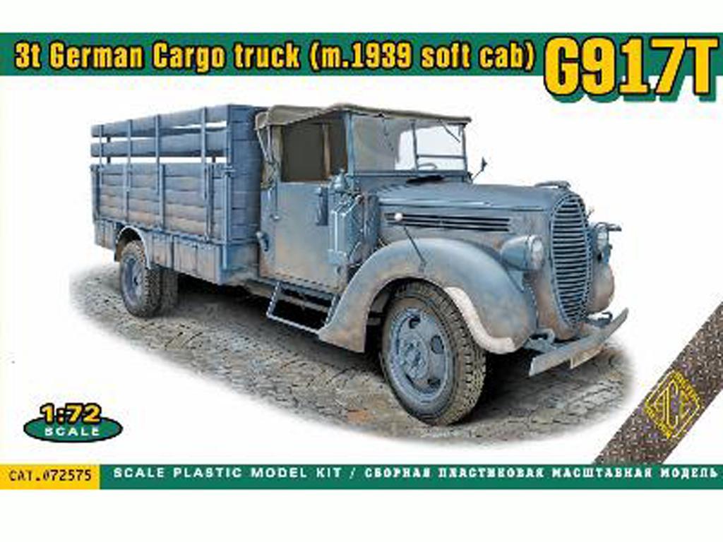 G917T 3t German Cargo truck (Vista 1)
