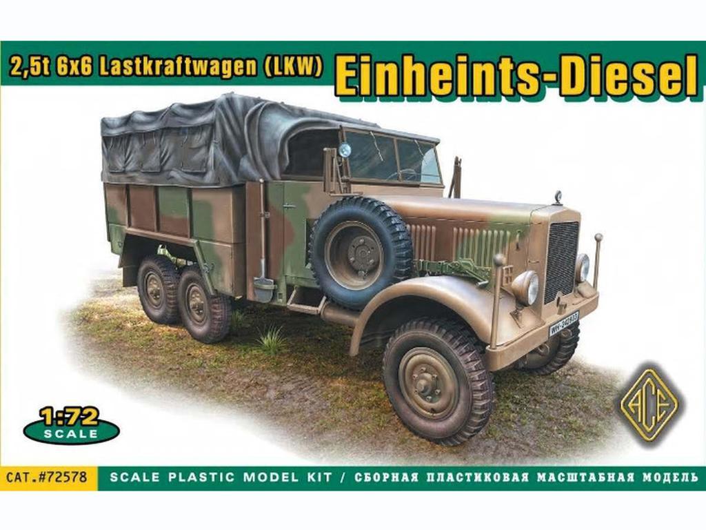Einheints-Diesel 2.5T LKW (Vista 1)