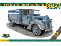 G917T 3t German Cargo truck (Vista 2)