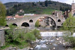 Puente de Camprodom- España - S. XIII  (Vista 3)