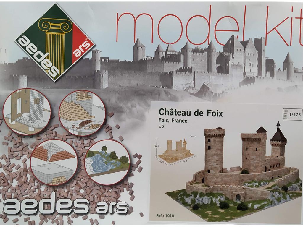 Château de Foix, Francia, Siglo X (Vista 1)