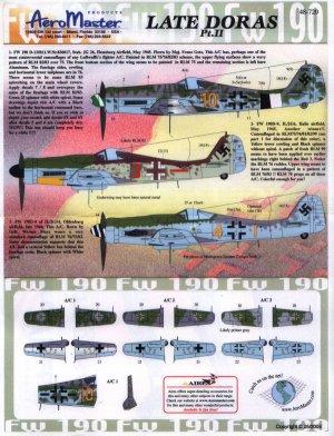 Late Doras, Fw-190 D-9, Pt II - A/cfrom  (Vista 1)