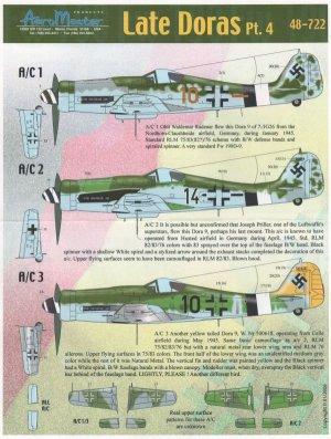 Late Doras, Pt IV (FW-190D-9)  (Vista 1)