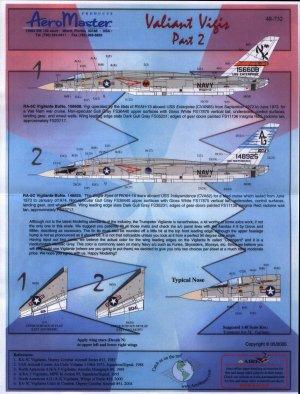 Valiant Vigis, RA-5C Vigilante, Pt II –  (Vista 1)