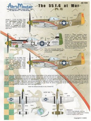 The 55 Fighter Group at war, P-51 Mustan  (Vista 1)