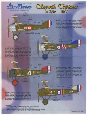 Sopwith Triplanes at War, Pt I  (Vista 1)