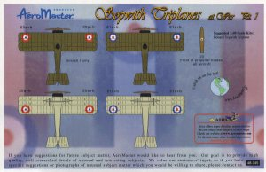 Sopwith Triplanes at War, Pt I  (Vista 2)