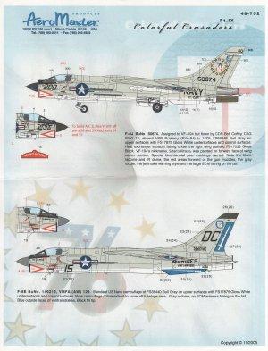 Colorful Crusaders, F-8s, Pt IX - A/C of  (Vista 1)