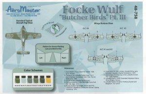 Focke Wulf Butcher Birds, Pt III (Fw-190  (Vista 2)