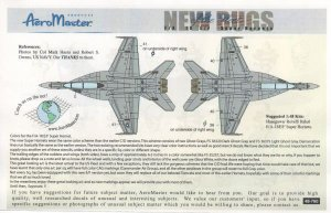 New Bugs of the Fleet, F/A 18-F, pt1 - V  (Vista 2)