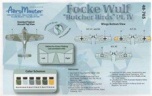 Focke Wulf Butcher Birds, Pt IV (Fw-190A  (Vista 2)