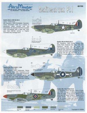 Seafires At War, Pt I (Seafire Mk IIc, I  (Vista 1)