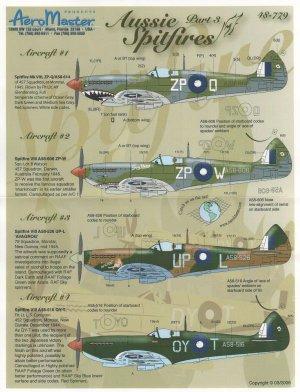 Aussie Spitfires, Pt III (Spitfire Mk VI  (Vista 1)