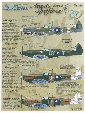 Aussie Spitfires, Pt IV (Spitfire Mk VII  (Vista 1)
