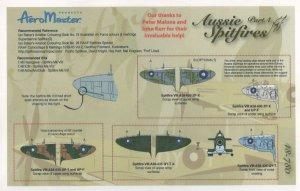 Aussie Spitfires, Pt IV (Spitfire Mk VII  (Vista 2)